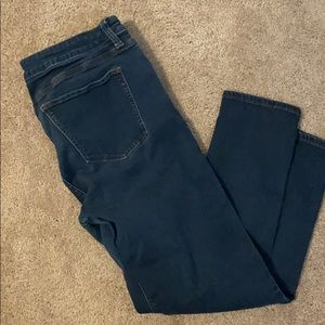 Dark Cropped Jean